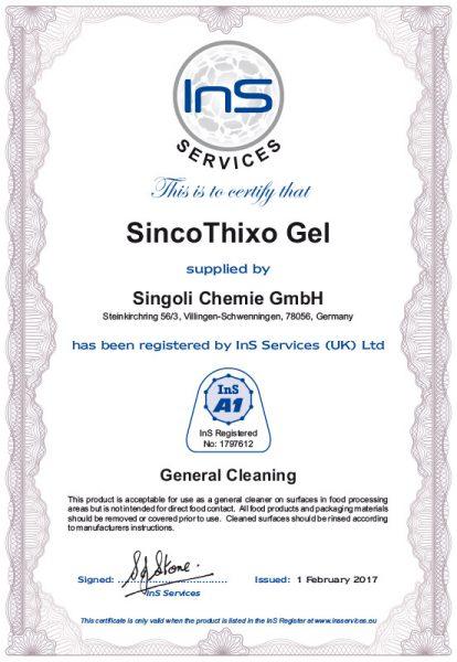 SincoThixo-Gel-A-1-Zulassung